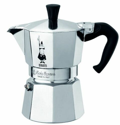 Bialetti 6 Cup Moka Express Stovetop Espresso Coffee Maker Pot Latte 12 ounce