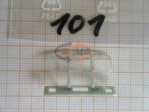 10 x pieza de repuesto albedo enormemente rammschutz Front rejilla protectora volvo h0 1:87-0101
