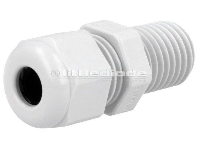 HELU-91690 Cable gland with long thread M12 IP68 Mat polyamide HSK-LM12RAL7035
