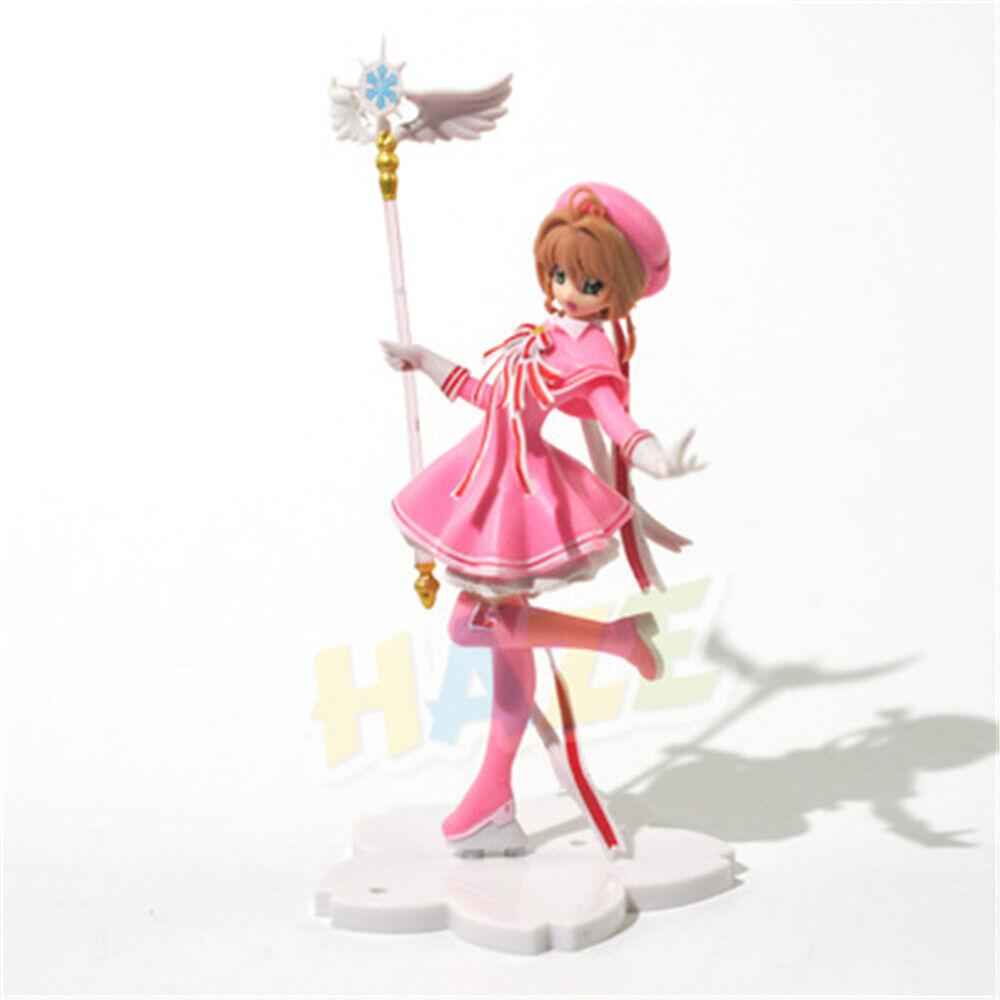 Card Captor Sakura Kinomoto Sakura Magic Scepter PVC Figure Toy 6/'/' Cake Decor
