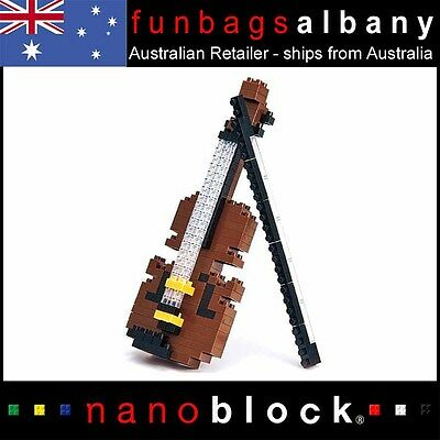 Nanoblock Violin micro sized building blocks Nano block mini musical series