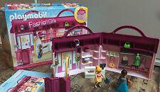 Playmobil - Fashion Girls - 6862- Modeboutique zum Mitnehmen wie Neu