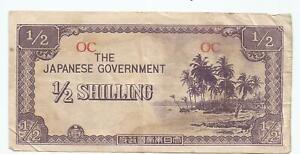 Oceania-1-2-Shilling-Japanese-Occupation-JIM-prefix-OC-FINE