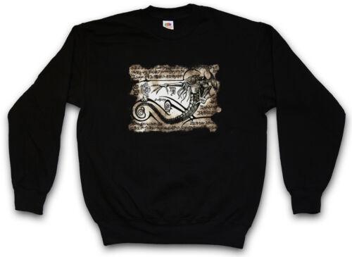 Sanscrit Sweatshirt Tr3b Cthulhu Pullover Flying Alien Necronomicon Ufo Piece Tg4YwvqU