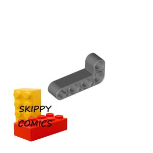 Lot x4 Lego Liftarm 2x4 L shape thick épais GRIS F//D GREY 4210667-6271830