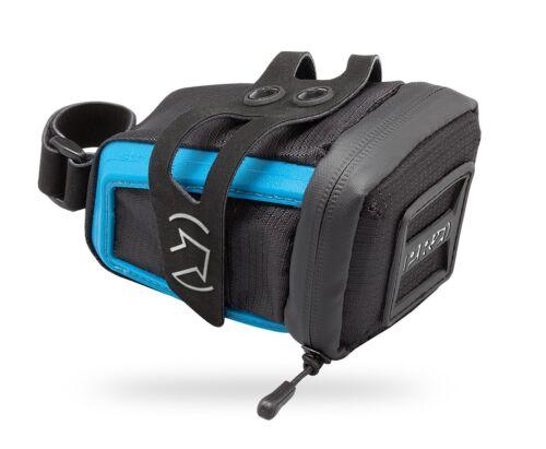 Black//Blue Saddle Bag Shimano PRO Stradius Mini Bicycle Seat Pack w Strap