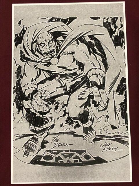 "JACK KIRBY ETRIGAN THE DEMON  PRINT 11 x 17/"" Batman Universe"