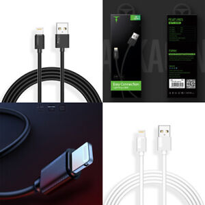 Details about 2.4A Lightening USB Cable Sync & Charging For iPhone 7,8,X, Xs,X Max, Xr, 8 Plus