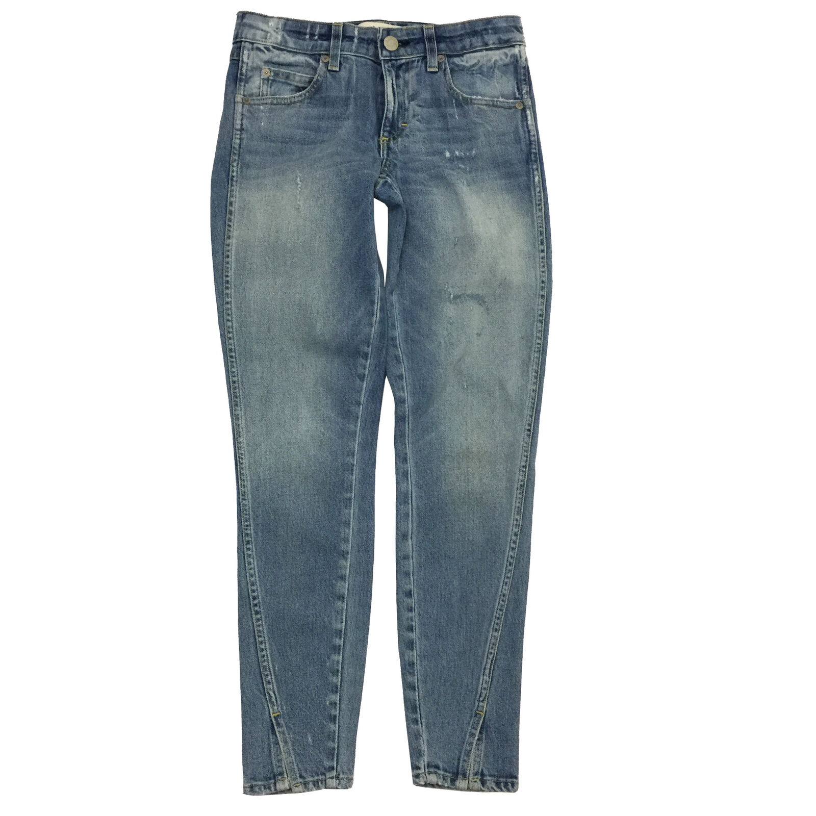 AMO Women's Twist Sweet Cheeks Denim Stretch Jeans Size 25