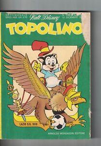 1976 12 12 - TOPOLINO - WALT DISNEY - N.1098 - 12 DICEMBRE 1976 - Italia - 1976 12 12 - TOPOLINO - WALT DISNEY - N.1098 - 12 DICEMBRE 1976 - Italia