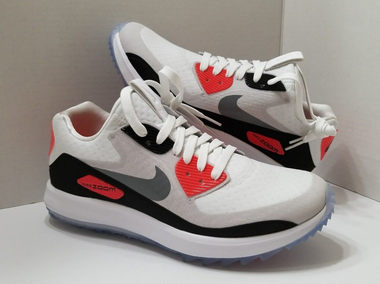 Nike Air Zoom 90 IT Infrared [844648-100] Women's Spikeless Golf Shoe [844648-100] Infrared Size 7.5 7b6d32