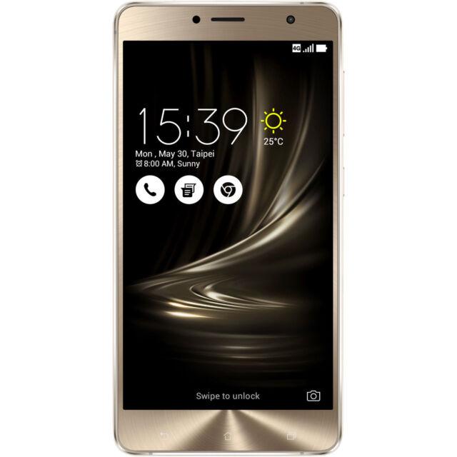 ASUS ZenFone 3 Deluxe 5.5, Smartphone, 64 GB, 5.5 Zoll, Glacier Silver, Dual SIM