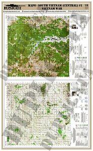 Guerra De Vietnam Mapa.Detalles Acerca De Diorama Modelo Accesorio 1 6 Mapas South Vietnam Central 1 Guerra De Vietnam Mostrar Titulo Original