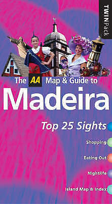 """""""AS NEW"""" Catling, Christopher, AA Twinpack Madeira (AA TwinPack Guides) Book"""