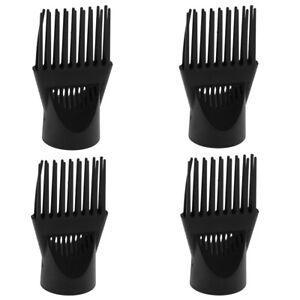 4x-Pro-Universal-Salon-Hair-Dryer-Diffuser-Blow-Cover-Comb-Attachment-Black