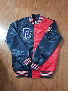 Details About Nwt Washington Nationals Dc Starter Jacket Size Large Black Label
