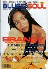Brandy on Blues & Soul Magazine Cover 1998  Lenny Kravitz Philip Bailey Ice Cube
