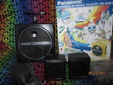 National 8 Track Player, Panasonic TNT RQ-830S  Black,  Very Rare