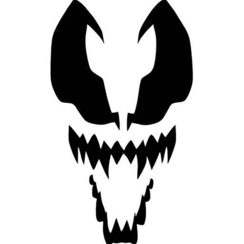 Car window decal truck outdoor sticker movie wicked Venom Antihero comic cool