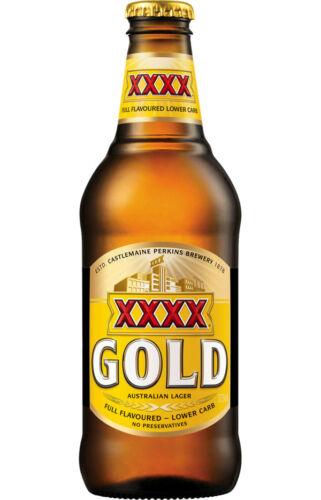 BEER STICKER DECAL XXXX GOLD Bottle For Bar Window Fridge Door Car Home Decor