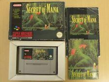 Super Nintendo SNES Game * SECRET OF MANA * Complete Retro ULTRA Rare 10303