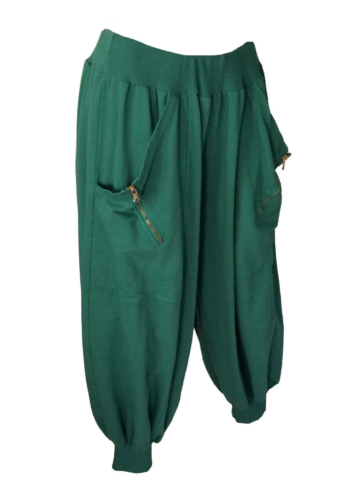 TG. 46 48 48 50 50 52 Pantaloni Pantaloni Pantaloni ALBERO wollhose Sweathose palloncino Pantaloni Mega lontano Lagenlook 8946f3