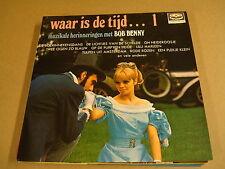 LP / BOB BENNY - WAAR IS DE TIJD...1