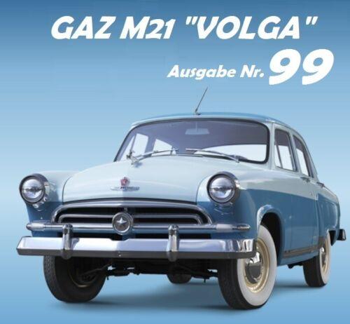 1:8 gaz m21 Volga DeAgostini salida nº 99