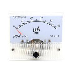 Analog 85C1 DC 50uA Panel Meter Amperemeter Messgerät Einbaumeßgeräte