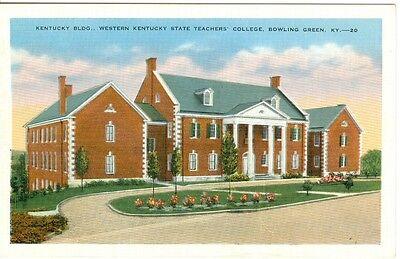 Western Kentucky State University Bowling Green postcard