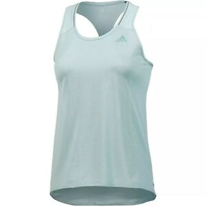 c85a4687fe35f Image is loading New-Adidas-Workout-Vest-Tank-Top-Blue-Ladies-