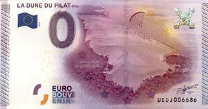 33-LA-TESTE-DE-BUCH-La-Dune-du-Pilat-2015-Billet-0-Euro-Souvenir