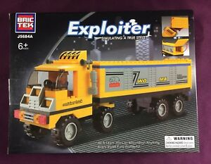Brictek-Exploiter-Container-Truck-174-Pcs-J5684A-Brand-New-Never-Built-Sealed