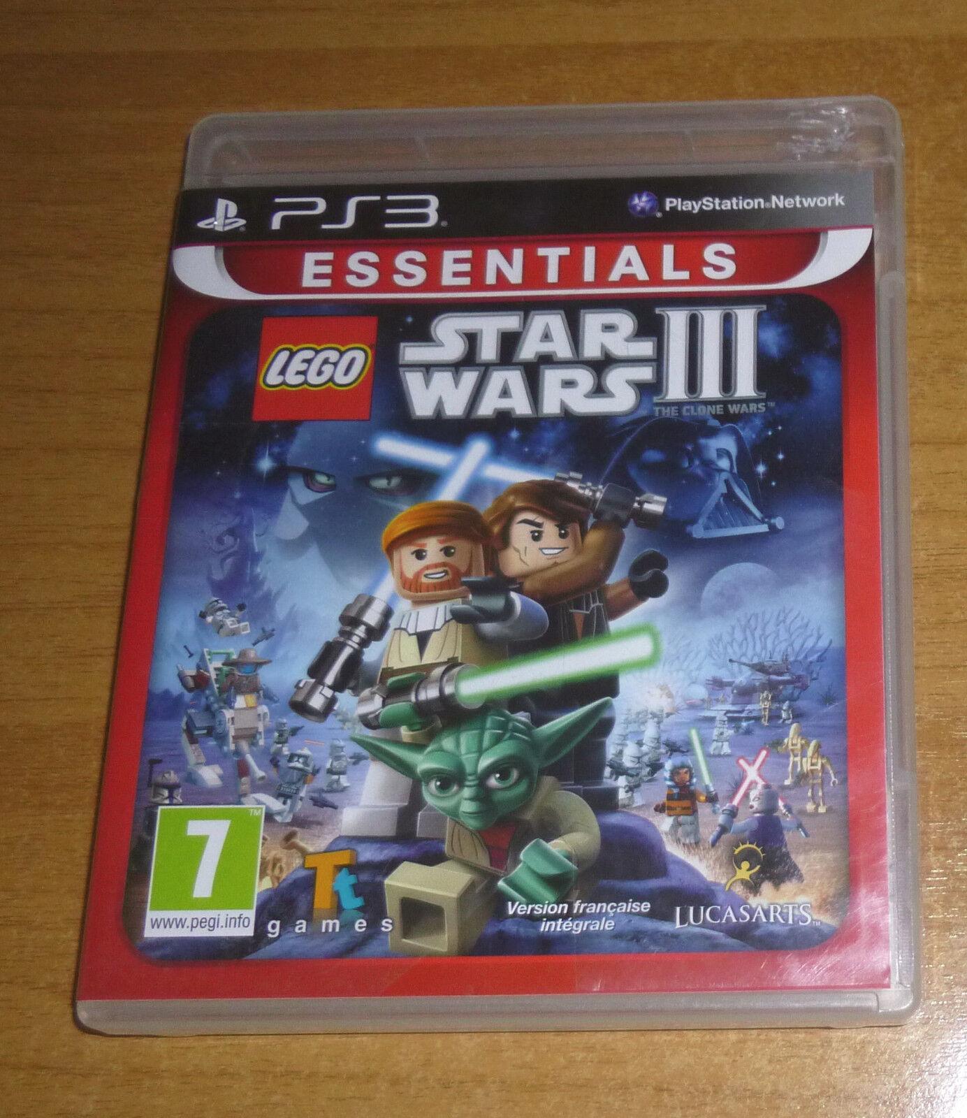Jeu playstation 3 PS3 - LEGO Star wars 3 the - jeu StarWars