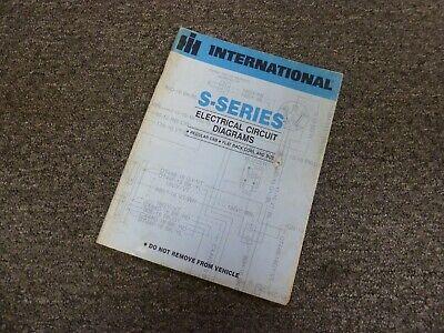 1984 International 2375 2554 2574 2674 Truck Electrical ...