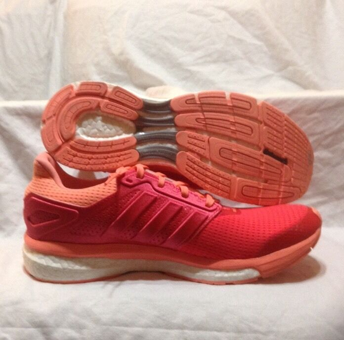 ADIDAS SUPERNOVA GLIDE 8 WOMENS RUNNING SHOCK RED SUNGLOW AF6558 NEW Price reduction