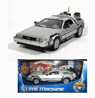 Welly Delorean 1//24-18 cm Réplique Retour vers le Futur