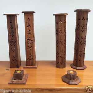 Wooden-Incense-Tower-Holder-Burner-for-Joss-Sticks-or-Chest-Incense-Cone-Burner