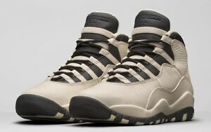 new photos 2cc93 4ab98 Image is loading Nike-Air-Jordan-10-Retro-Prem-Pearl-Black-