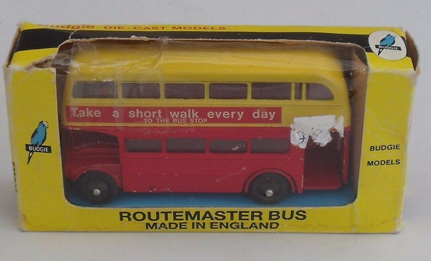BUDGIE - ROUTEMASTER BUS - NEAR MINT & BOXED