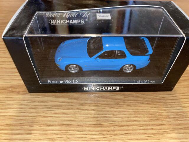 Minichamps 1993 Porsche 968 CS Blue 1:43 Box 5