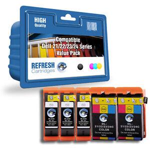 compatible-con-DELL-tinta-21-22-23-24-SERIE-5-Cartucho-Para-Uso-Diario-Valor