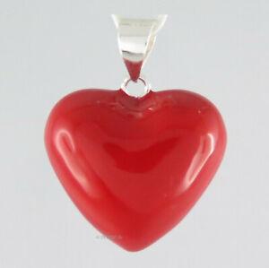 Herz Klangkugel - Feenkugel Anhänger Elfenrufer Glücksbringer rot Liebe Love neu