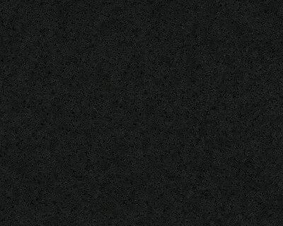 Versace Home Wallpaper 935824 Tapete schwarz Uni einfarbig  Satin Barock Vlies