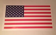 """New American Flag Sticker Decal For Car, Truck, Boat, Patriotic  3""""x5.5"""" Made US"""