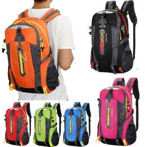 40L-Outdoor-Travel-Hiking-Camping-Backpack-Waterproof-Rucksack-Trekking-Bag-Pack