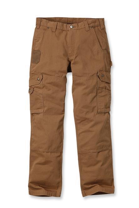 Carhartt Workwear B342 Ripstop Cargo Trousers Pant Brown Man Work W33 L32