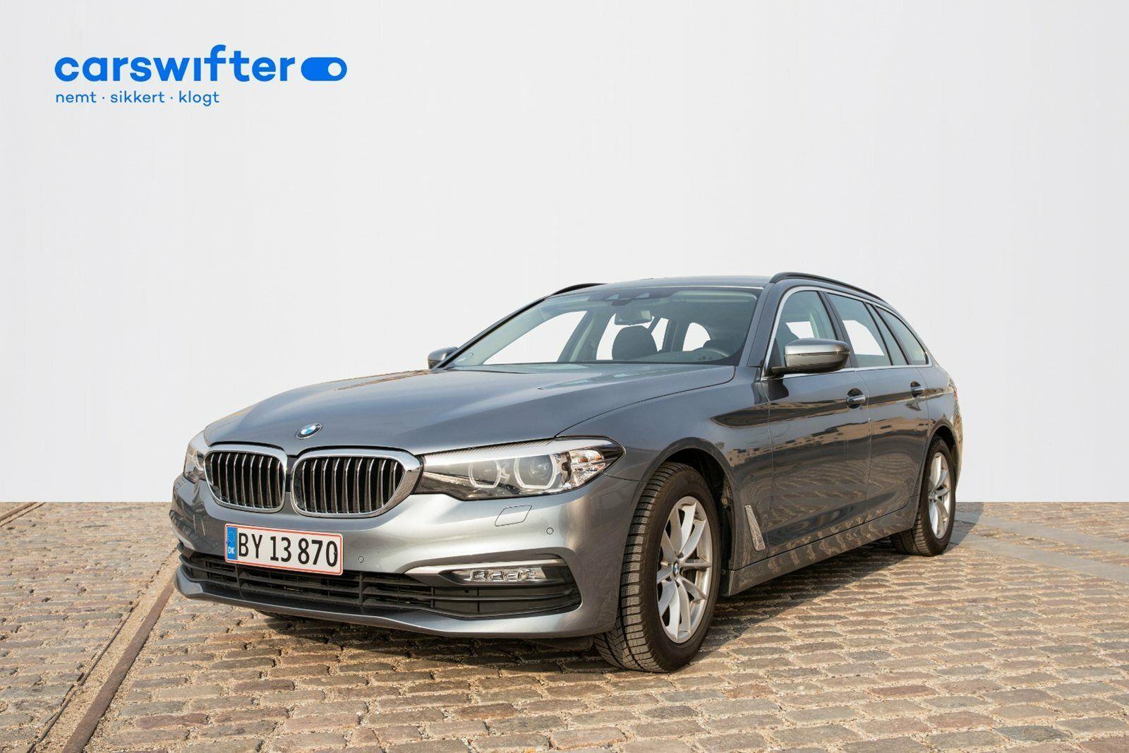 BMW 520d 2,0 Touring aut. 5d - 539.000 kr.