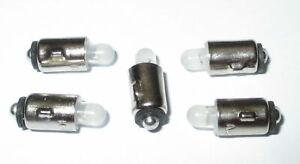 """5 x   /""""NEU/"""" LED Ersatzlampen MS4 16-24V Märklin 600000"""