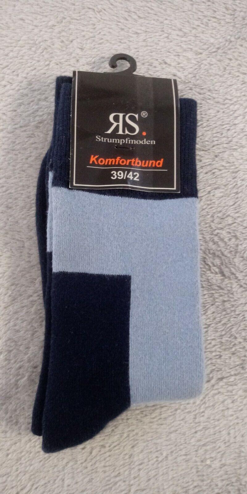 RS Strümpfe blau Größe 39-42